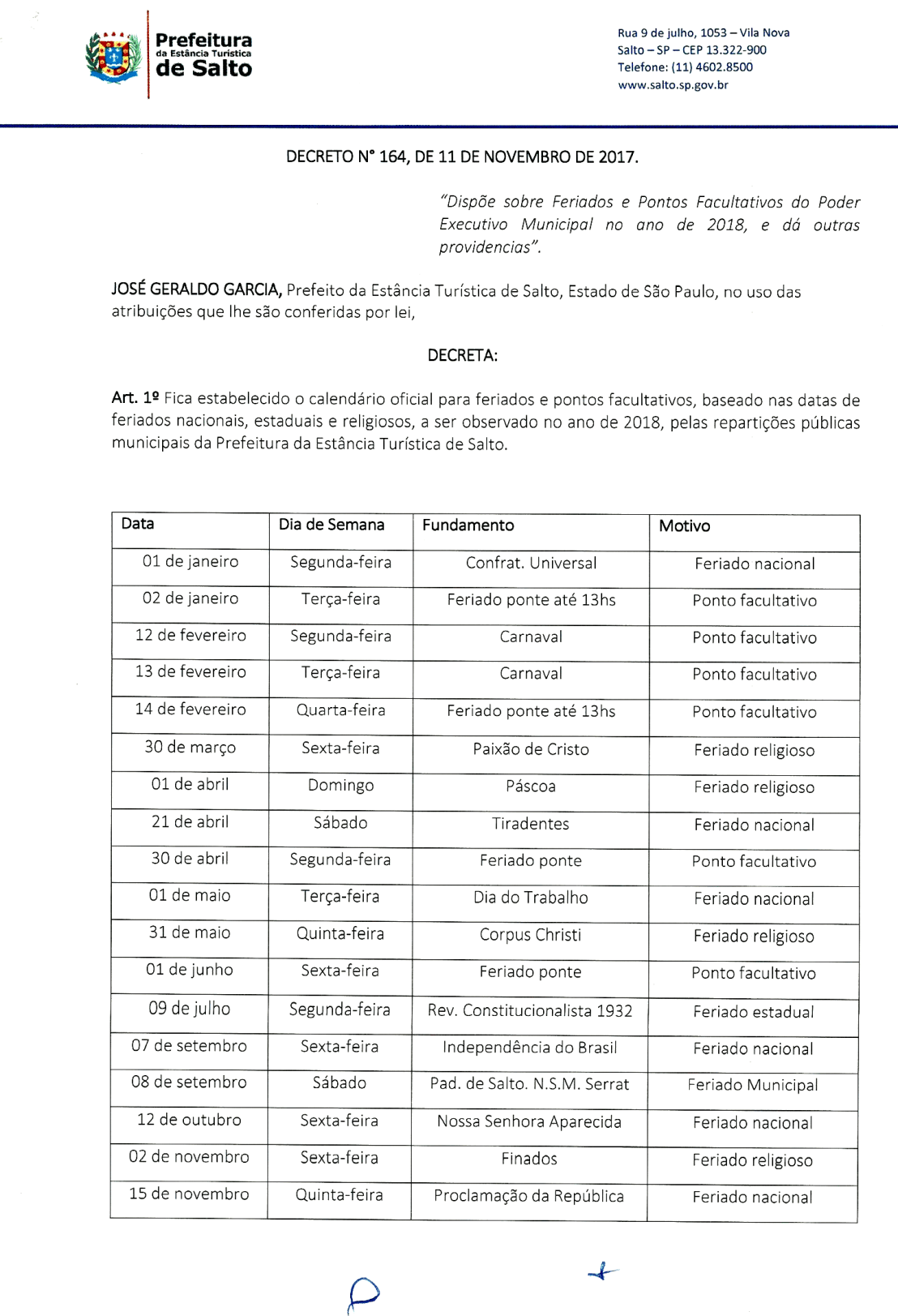 decreto_164_2017_dispoe_feriados_pontos_facultativos_poder_executivo_municipal_ano_2018-1